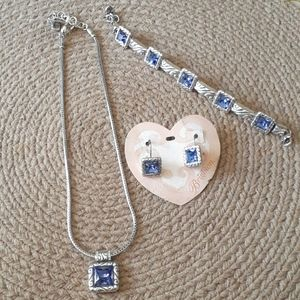 Brighton Necklace, Bracelet & Earrings Set NWT